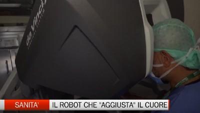 Sanità - A Humanitas Gavazzeni il robot che aggiusta il cuore
