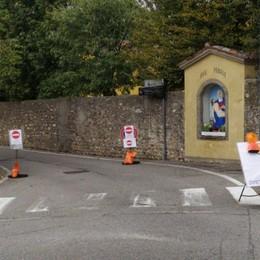 Sombreno, qualche problema alla viabilità per la chiusura di via Bergamo-Paladina