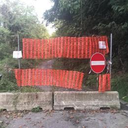 Strada chiusa per frane da oltre 3 anni Arrivano i fondi, si sbloccano i lavori