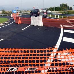 Aeroporto, pronta la nuova rotatoria Servirà per ridurre il traffico