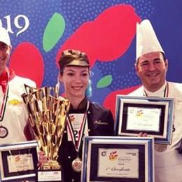 Europei della pizza, papà e figlia sul podio Primo e secondo posto per i La Porta