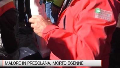 Malore in Presolana: morto 56enne volontario della CRI