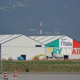 Orio, Ryanair inaugura il terzo hangar Vale 100 posti di lavoro indiretti
