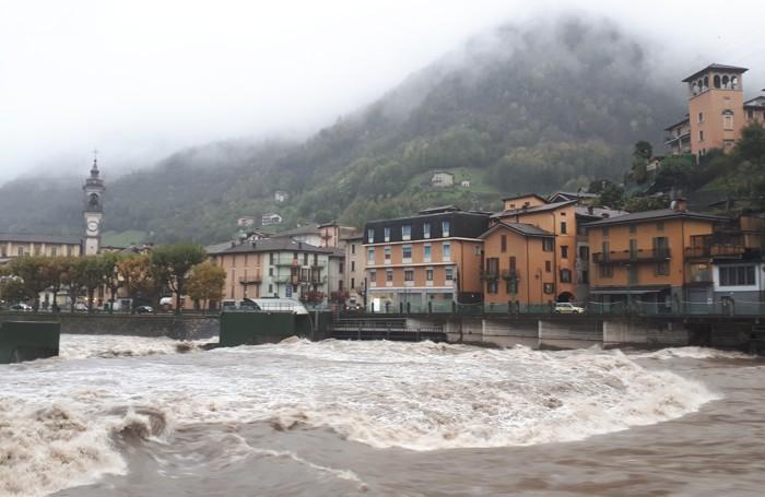 Brembo: la foto è stata scattata da un nostro lettore, Tiziano Ratti, da San Pellegrino