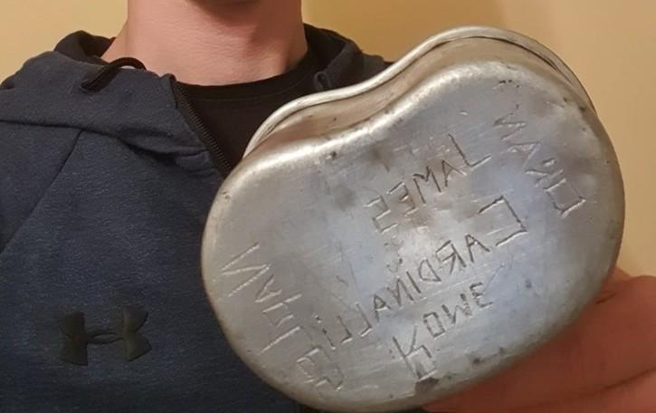 Trovano «gavetta» di soldato americano Appello per rintracciare i discendenti