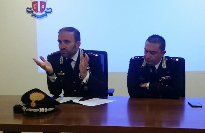 Il colonnello Paolo Storoni e il tenente colonnello Alessandro Fasolino