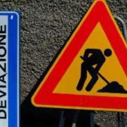 Val Seriana, lavori sulla Provinciale Code da Cene a Gazzaniga