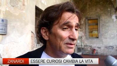 Zanardi in Università: Essere curiosi cambia la vita