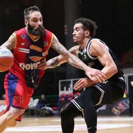 Bergamo basket, due punti contro Rieti Per aggrapparsi al centro classifica