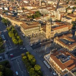 Bergamo vista dall'alto Visite alla Torre dei Caduti
