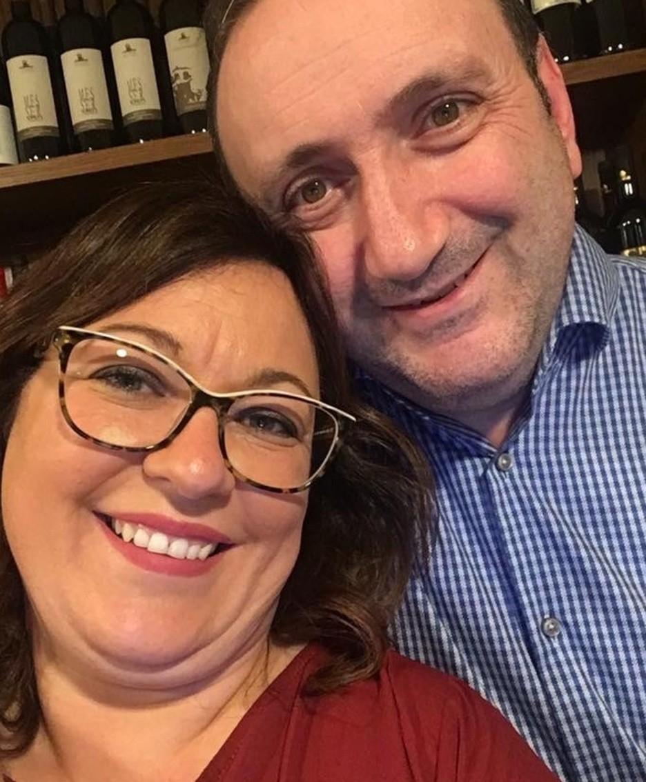 Nadia e Cesare Valente