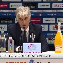 Cagliari amaro per l'Atalanta, battuta per 2-0