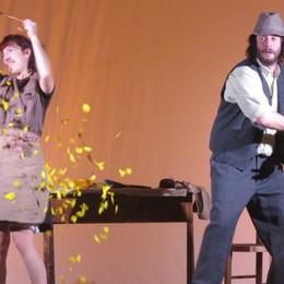 Cibo e libertà, teatro  a  Bonate Sopra