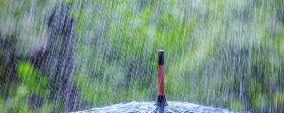 Entra in scena l'autunno Nuvole e pioggia per il Ponte