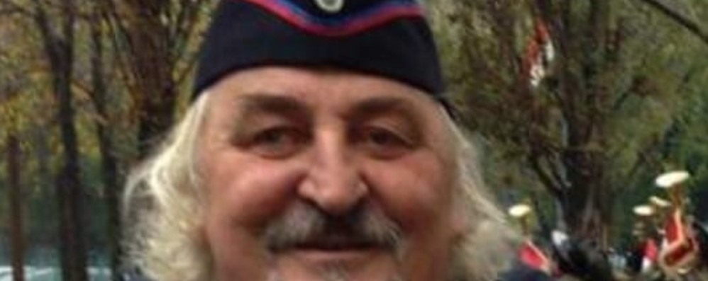 «Era un uomo libero e molto attivo» Calcinate piange Beppe Capoferri