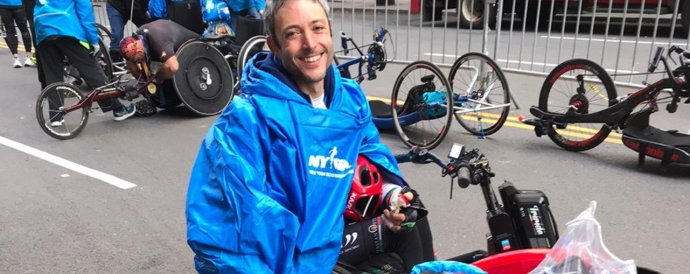 Il sogno della maratona di New York «Grazie a Zanardi è diventato realtà»
