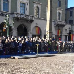 Omaggio ai Caduti in Rocca e in centro Il 4 Novembre a Bergamo, ecco le foto
