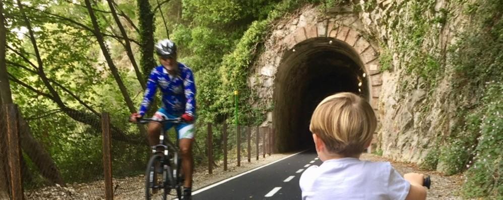 Pista ciclopedonale della Valle Brembana Arrivano 600 mila euro dalla Regione