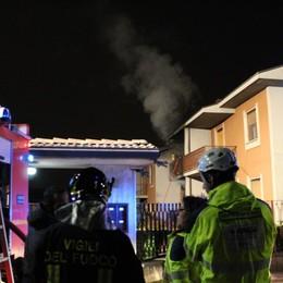 Scoppio e fiamme in una villetta Attimi di paura a Chignolo d'Isola