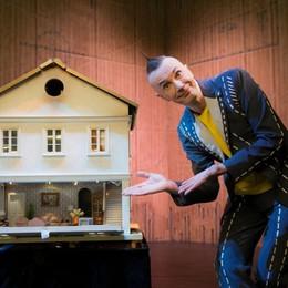 Arturo Brachetti torna al Creberg Teatro Il 3 dicembre il trasformismo di «Solo»