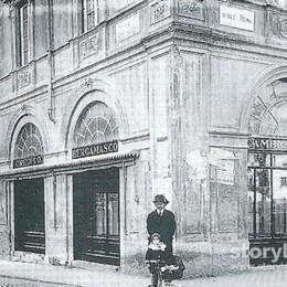 Bergamo, «dolci» ricordi lungo il viale del centro