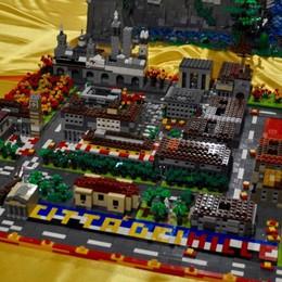 Città e navi da crociera in Fiera con 2,5 milioni di mattoncini Lego