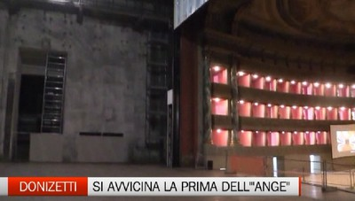 Donizetti - Si avvicina la prima dell' Ange de Nisida