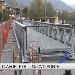 Fiorano, i lavori per il nuovo ponte sulla ciclabile
