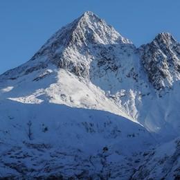Neve sul Pizzo del Diavolo - Foto Il tetto della  Val Brembana è  già  bianco