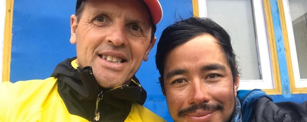 Purja record: le 14 vette più alte in 7 mesi Moro: forza fisica e grande logistica
