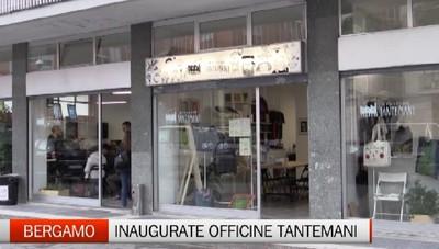 Bergamo, inaugurate le Officine Tantemani