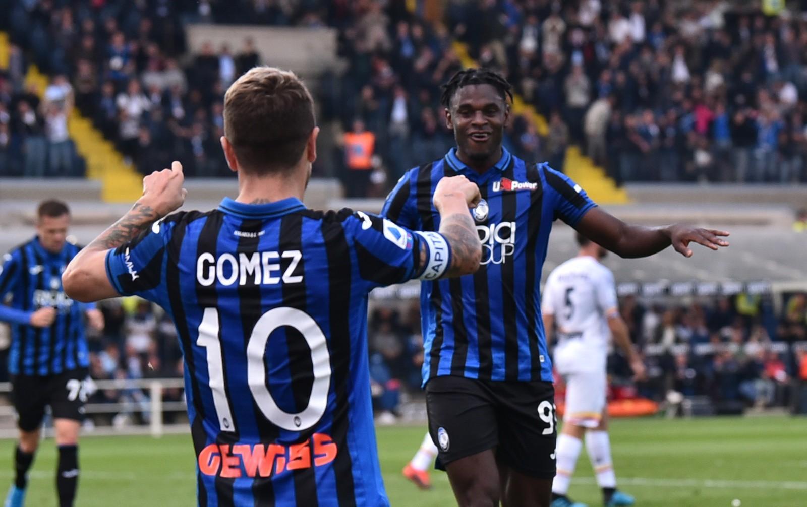 Gómez, Zapata, Atalanta