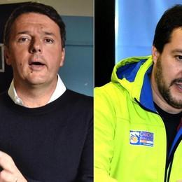 L'ingenuità di Salvini e l'astuzia di Renzi