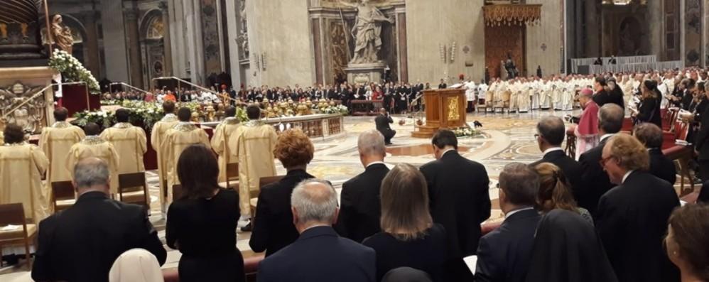 Mons. Paolo Rudelli ordinato arcivescovo L'ordinazione da parte di Papa Francesco