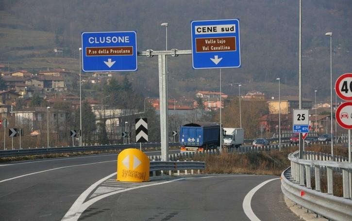 Provinciale della Valseriana Tornano i vecchi limiti di velocità