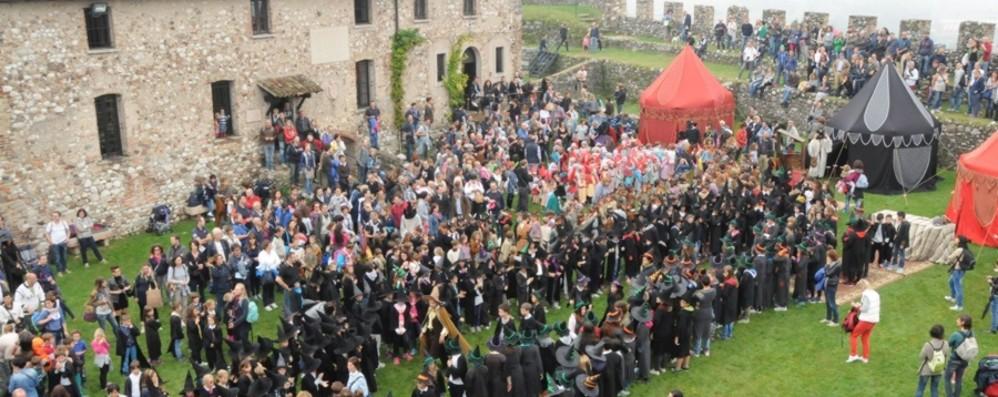 Alla Rocca di Lonato i fan di Harry Potter