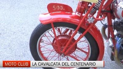 Cavalcata del centenario per il Moto Club di Bergamo