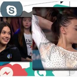 La nuova stella della ginnastica artistica Ecco chi è Giorgia Villa,  senza filtri -Video