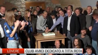 Lovere, inaugurato il Club Amici Atalanta Titta Rota