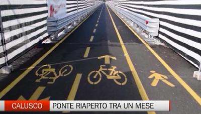 Ponte San Michele, apertura alle auto : - 30 giorni. E le navette?