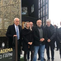 Atalanta, inaugurata l'Accademia Favini Percassi: il migliore, il suo un grande aiuto