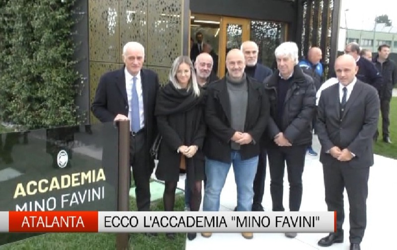 Atalanta, inaugurata l'Accademia Mino Favini - Video Ciserano - L'Eco di Bergamo