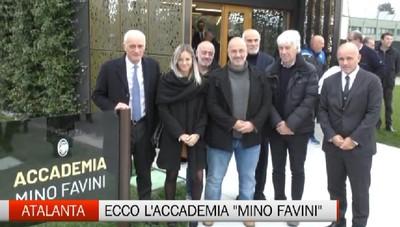 Atalanta, inaugurata l'Accademia Mino Favini