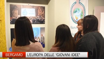 Bergamo - In mostra l'Europa delle Giovani Idee