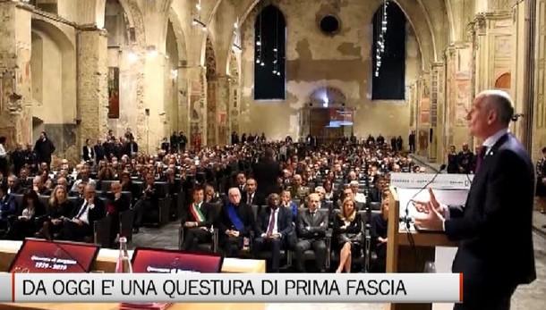 «Cent'anni di lavoro a servizio del territorio. Bergamo Questura di prima fascia»