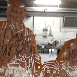 Gandino, vandali in azione Acido sui pannelli alla Resistenza