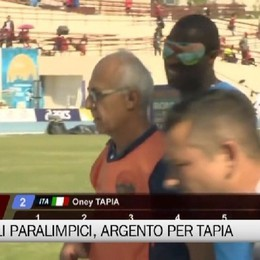 Mondiali Paralimpici, argento per Oney Tapia