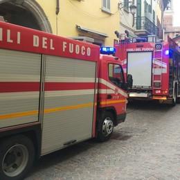 Treviglio, s'incendia l'olio bollente Vigili del fuoco al ristorante