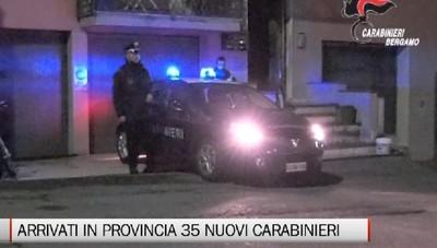 Arrivati 35 nuovi Carabinieri in provincia