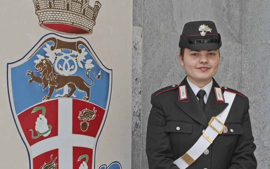Benvenuta carabiniere  Georgiana  Una bella lezione  di integrazione